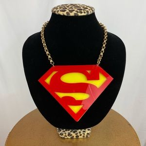 Superman Chunky Necklace